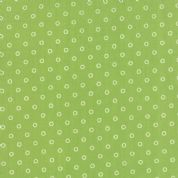 Moda Hello Darling by Bonnie & Camille - 4120 - Circles on Green - 55115 15 - Cotton Fabric